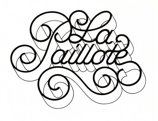 AIGA Design Archives #swash #logo #lettering
