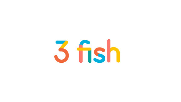 3 fish brand identity #creative #business #modern #print #design #graphic #identity #logo #cards #typography