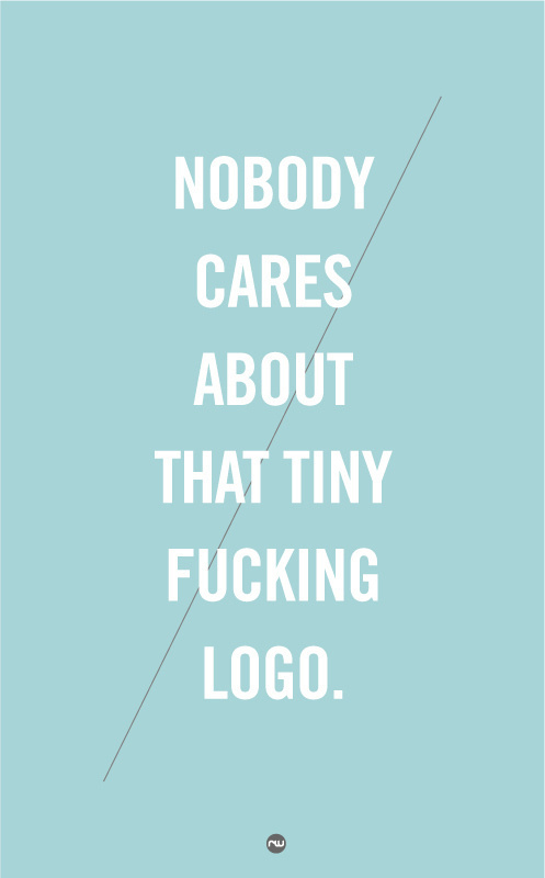 hairlines & pastels: thebe-all-end-all #caps #line #print #design #all #centered #poster #trendy #hairline #typography