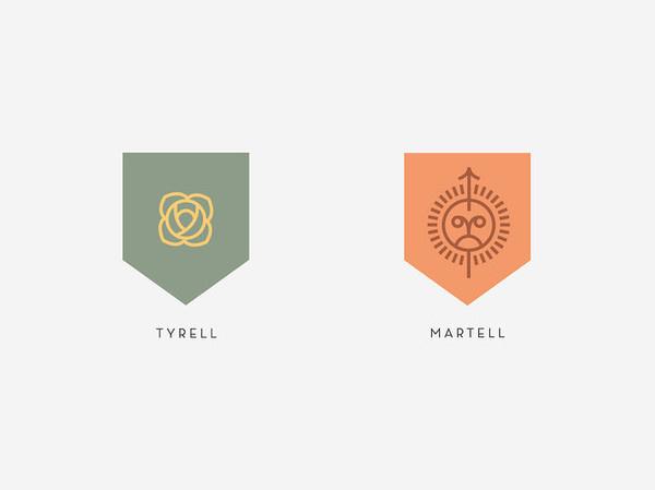 7 | A Top Nike Designer Rebrands Game Of Thrones | Co.Design: business + innovation + design #logo #rebrand #brand #gold