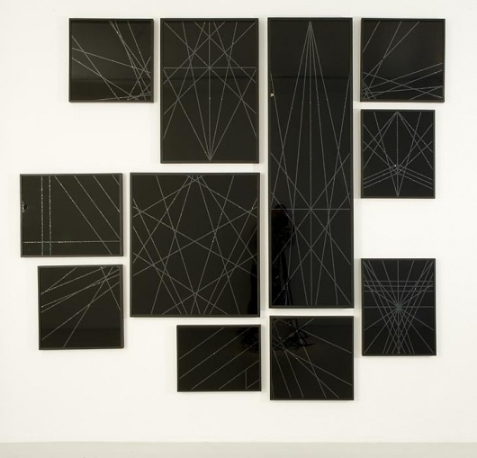 Marc Swanson - Black Glitter - Contemporary Art