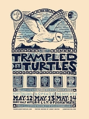 Trampled by Turtles - Colorado (Multi City) - Classified Ads #screen #print