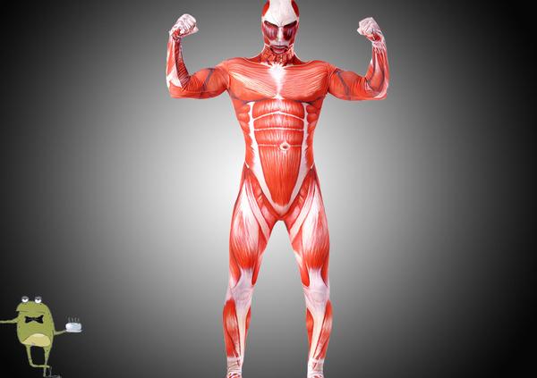 Shingeki no Kyojin Colossal Titan Zentai Suit Costume #zentai #colossal #titan #suit