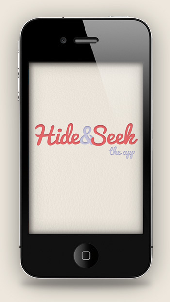 Hide&Seek #seek #mckay #design #hide #iphone #app #and #stephen
