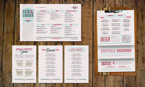 CL05 #menu #food #restaurant #concept #identity