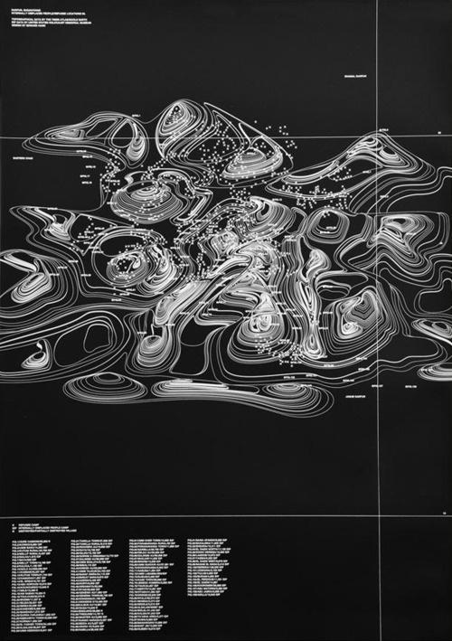 waves #poster #design #map