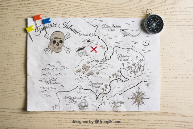 Pirate treasure map concept Free Psd. See more inspiration related to Mockup, Vintage, Travel, Paper, Map, Retro, World map, World, Mock up, Drawing, Compass, Adventure, Pirate, Decorative, Tourism, Vacation, Trip, Holidays, Sailor, Treasure, Story, Journey, Up, Vintage paper, Pirates, Concept, Traveling, Treasure map, Vintage retro, Traveler, Captain, Explore, Caribbean, Worldwide, Composition, Mock and Touristic on Freepik.