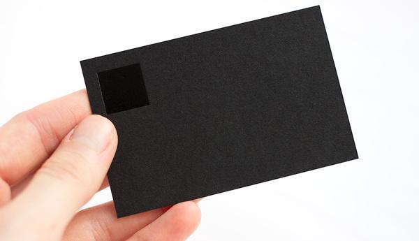 simple business card #business #card #simplicity #design #black #simple #on #square #studio #modernist