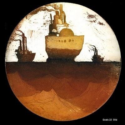 mercredi 2 juin 2010 #lithography #sea #boat