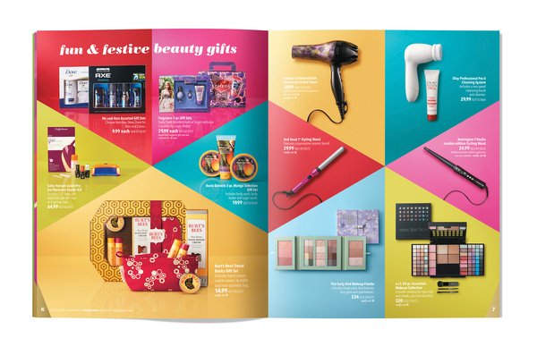 Target Holiday 2012 Catalog Series Graphis #holiday