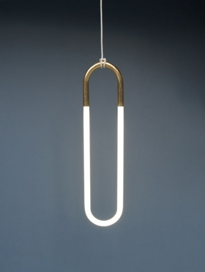 Lukas Peet's Ultra-Simple Rudi Pendant Lamp - Core77 #lamp #pendant