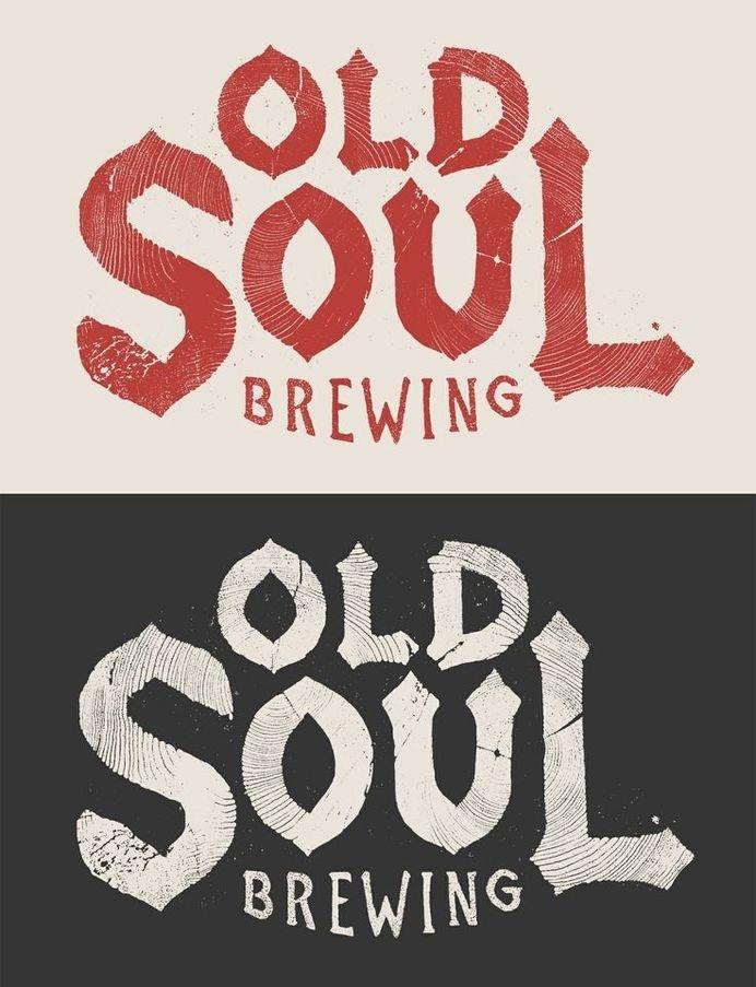 Old Soul Brewery Logo by Joshua Noom #old #design #vintage #logo #soul