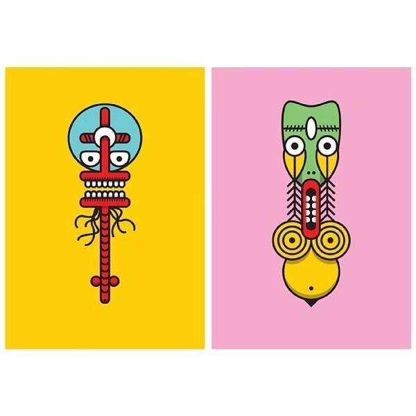 Monster Totems Vol:1 #illustration #illustrations