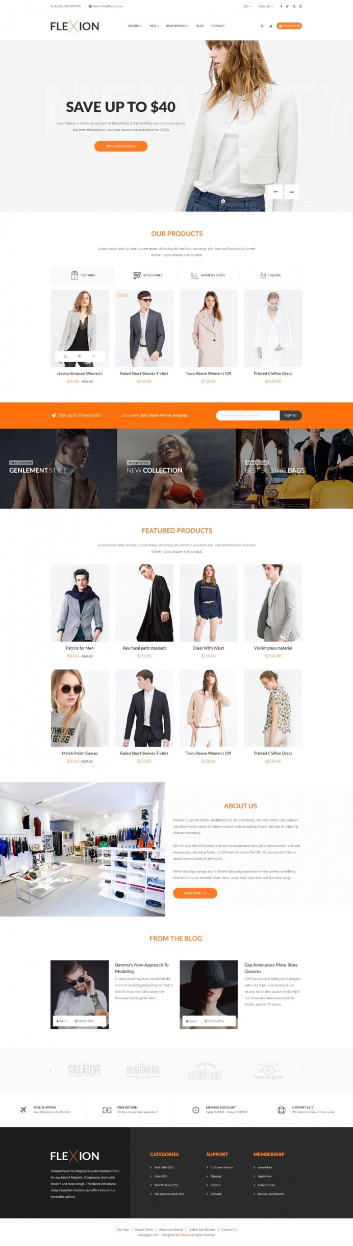 Flexion – Fashion E-Commerce Store
