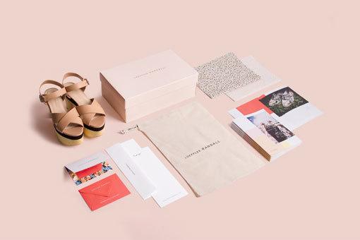 RoAndCo Studio: Loeffler Randall Brand Identity #design #graphic #identity
