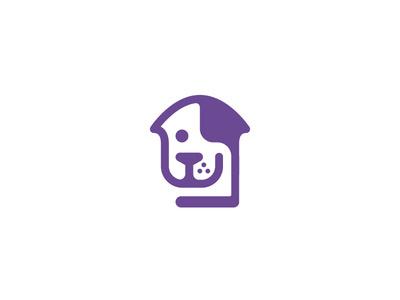 Real Estate Birddoger logo #mark #vector #house #bird #tsanev #real #doger #sofia #bulgaria #logo #estate