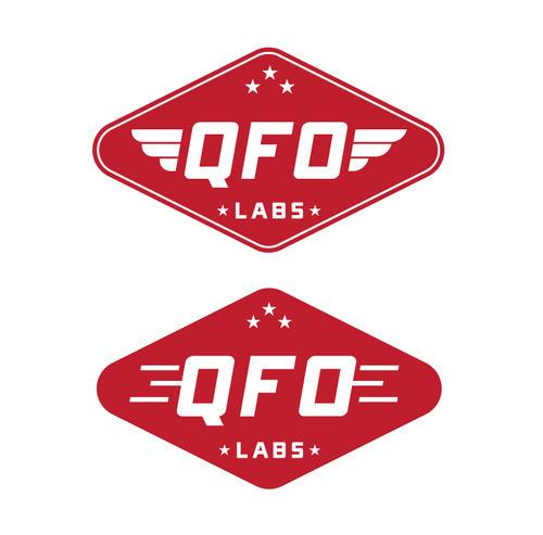 QFO Labs Logo #design #graphic #vintage #logos