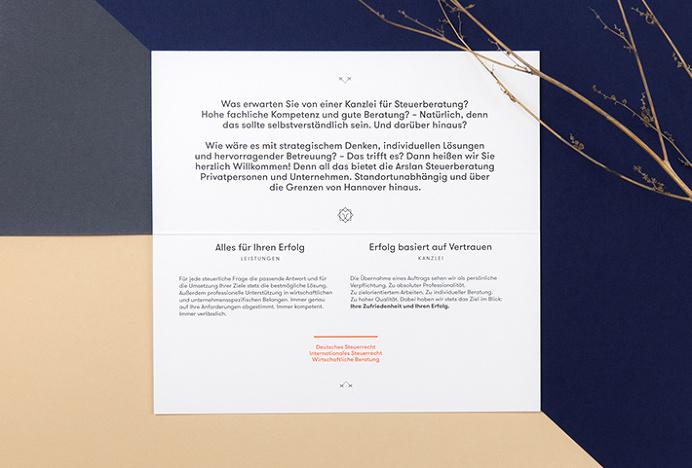 Arslan Steuerberatung by Bureau Hardy Seller #graphic design #print