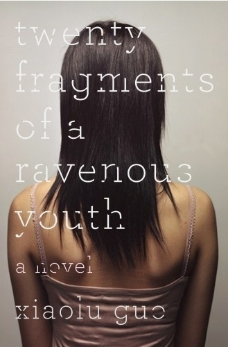 The Book Cover Archive: Twenty Fragments of a Ravenous Youth, design by Gabriele Wilson #book #book cover #cover