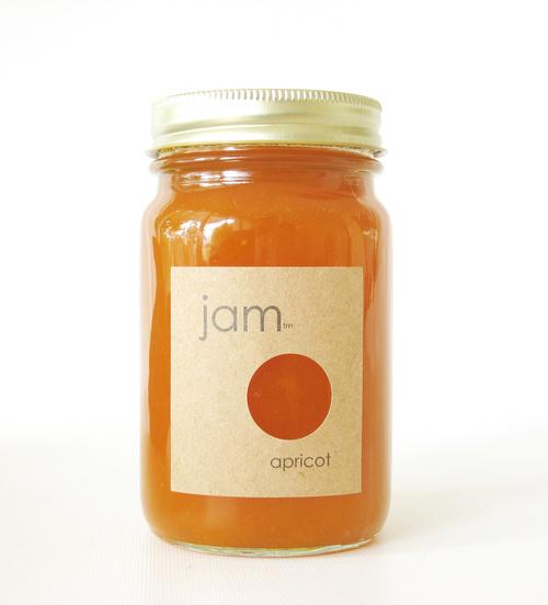 Label design #packaging #jar #jam #label