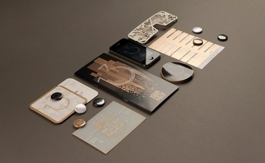 Murmure   Designcollector #fluoresent #design #paper #cards