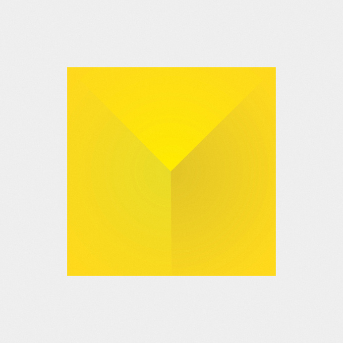 //// #geometry #yellow #shapes #pyramid #minimalist