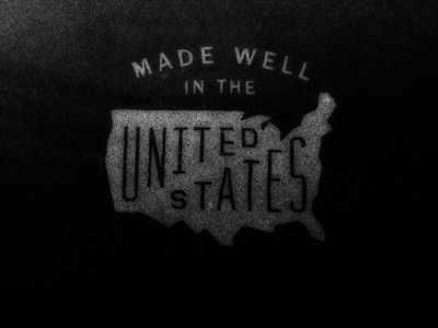 Dribbble - American Made by Matthew Genitempo #usa #lettering