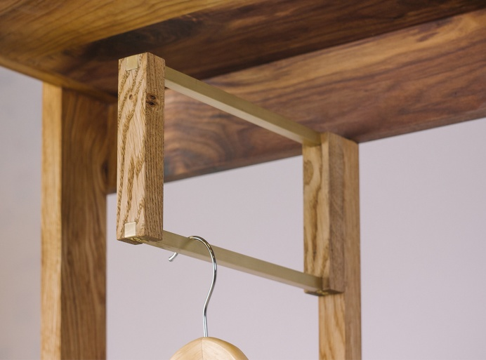 Hallway Cabinet Odessey Fly Massive Millworks #fly-massive-millworks #interior #wood #walnut #modernism #hallway #cabinet #oak #woodworking