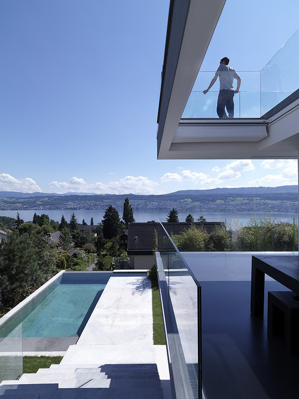 CJWHO ™ (Feldbalz House, Zurich, Switzerland | Gus...) #design #landscape #pool #switzerland #photography #architecture #zurich #luxury