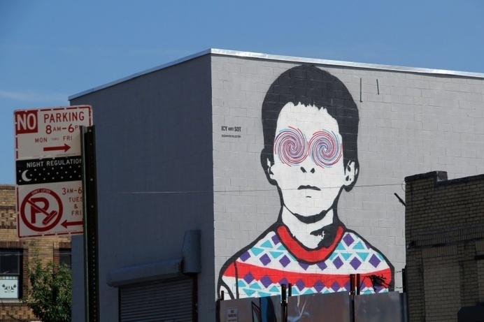 ICY and SOT: Stencil Artists from Iran - JOQUZ #art #street