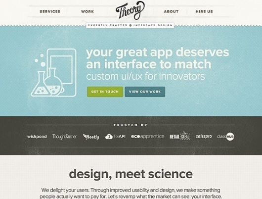 21 Breathtaking Examples of Minimal Color Usage in Web Design | Inspiration #layout #interface