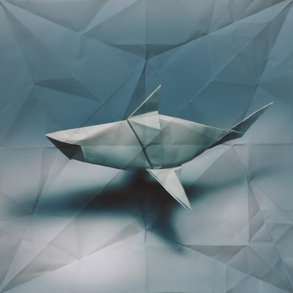 dead calm #origami #shark