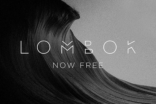 Lombok Free Font