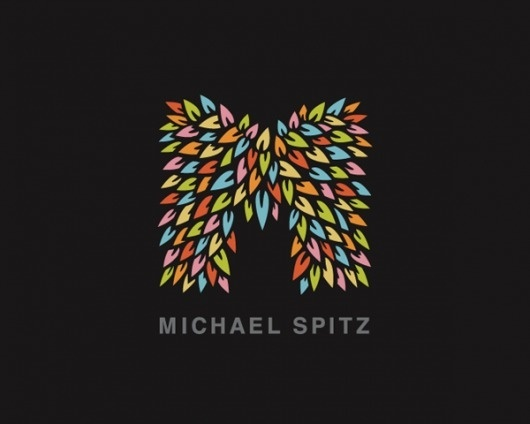 Michael Spitz - Logos - Creattica #logo #colors #leaves