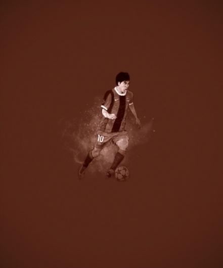 Marc González #messi #soccer #illustration #sports #barcelona #fcb #football