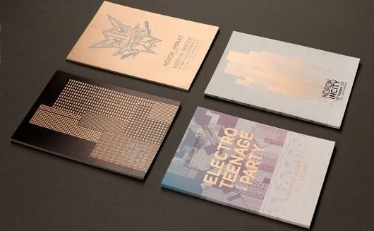Nördik Impakt 13 – Communication | Murmure – Agence Créative | Agence de communication àCaen / Bench.li #print #foil #geometric #illustration