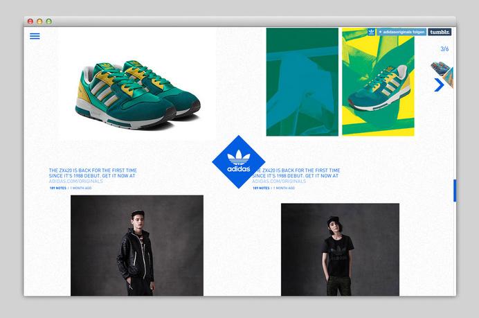 Websites We Love — Showcasing The Best in Web Design #agency #adidas #portfolio #design #best #website #ui #minimal #webdesign #web #typography