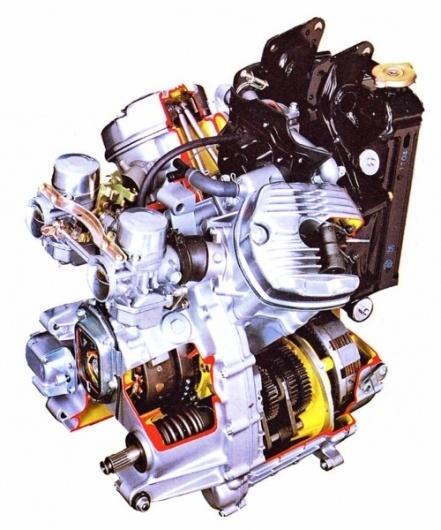 Google Reader (1000+) #diagram #motorcycle #engine