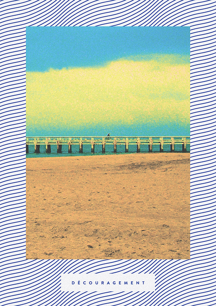 s00n #pattern #zine #print #seaside #cover #photography #sea #poster #waves #magazine