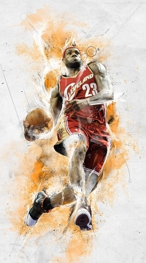 Nike - House of Hoops 1 #nike #illustration