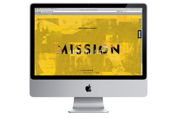 Livestrong Annual Report #website #livestrong #annual #report