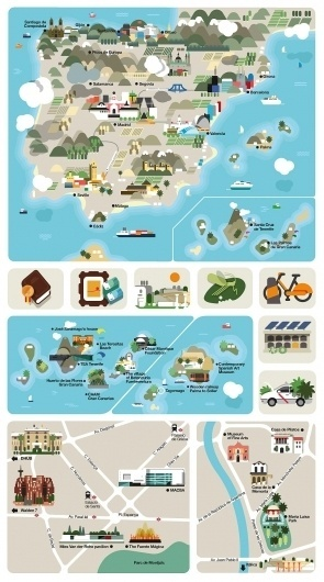 Monocle Spain #illustration #design