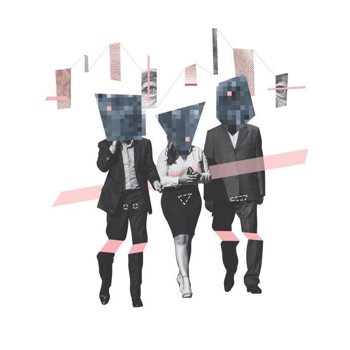 Gender Collage - John Sippel   vltrr vltrr.com