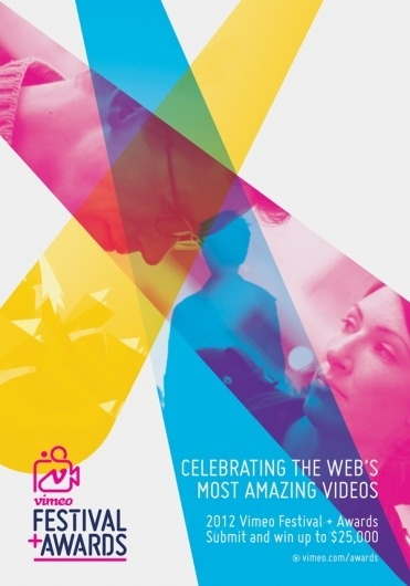 2012 Vimeo Festival + Awards #vimeo #print #design #graphic #poster