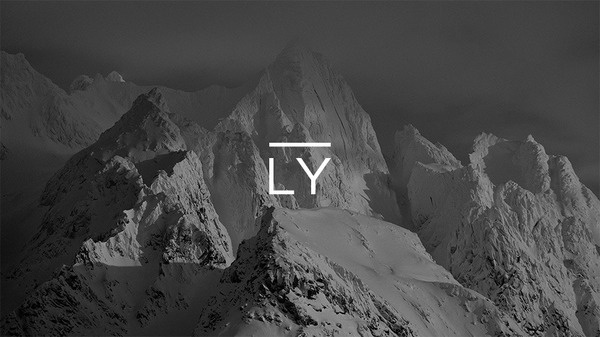 Ly Insurance identity by Railway, advertising and branding agency. Ly means #type #image