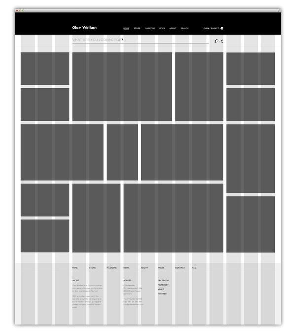 Olav Weiken #grid #layout #web