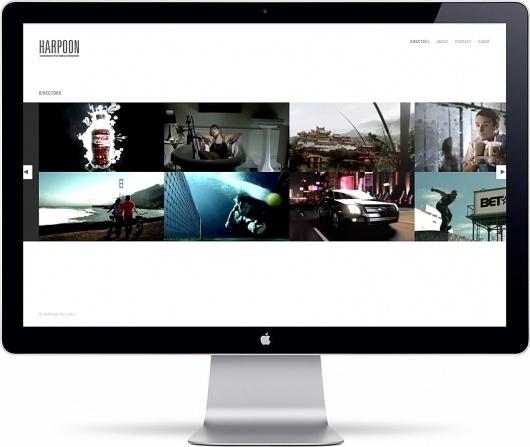 Girlfriend #website #design #minimal