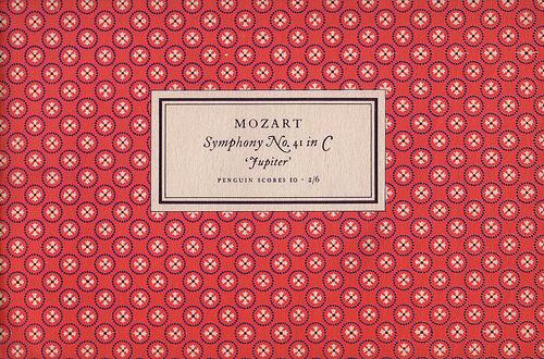 Penguin Scores no. 10: 1951 #garamond #pattern #musical #tschichold #jan #music #penguin #score