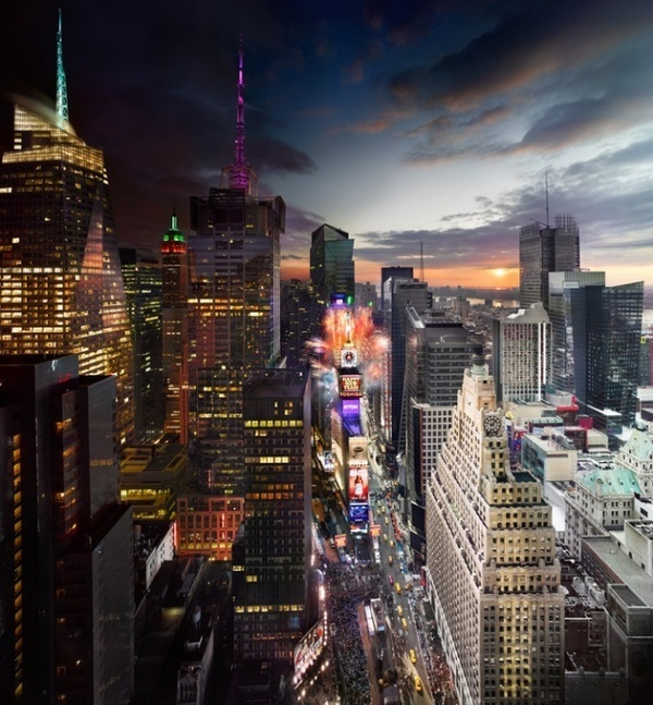 Day to Night by Stephen Wilkes #photography