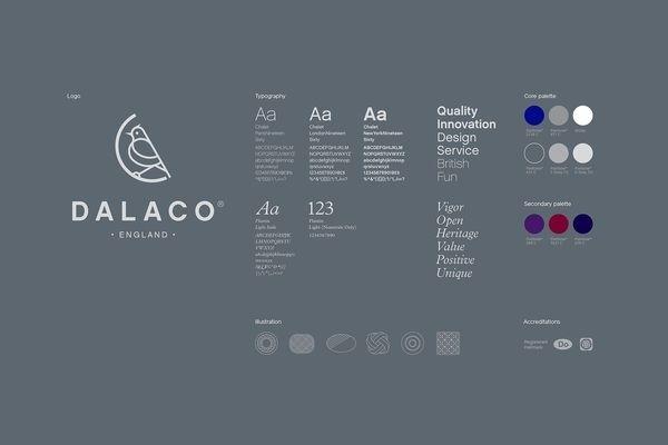 Dalaco xe2x80x94 Brand identity #dalaco #identity #manual